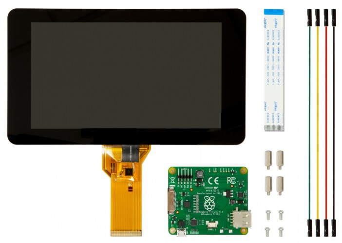 Raspberry Pi Touchscreen Display contents (2)