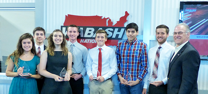2016 Wabash Scholarship Recipients