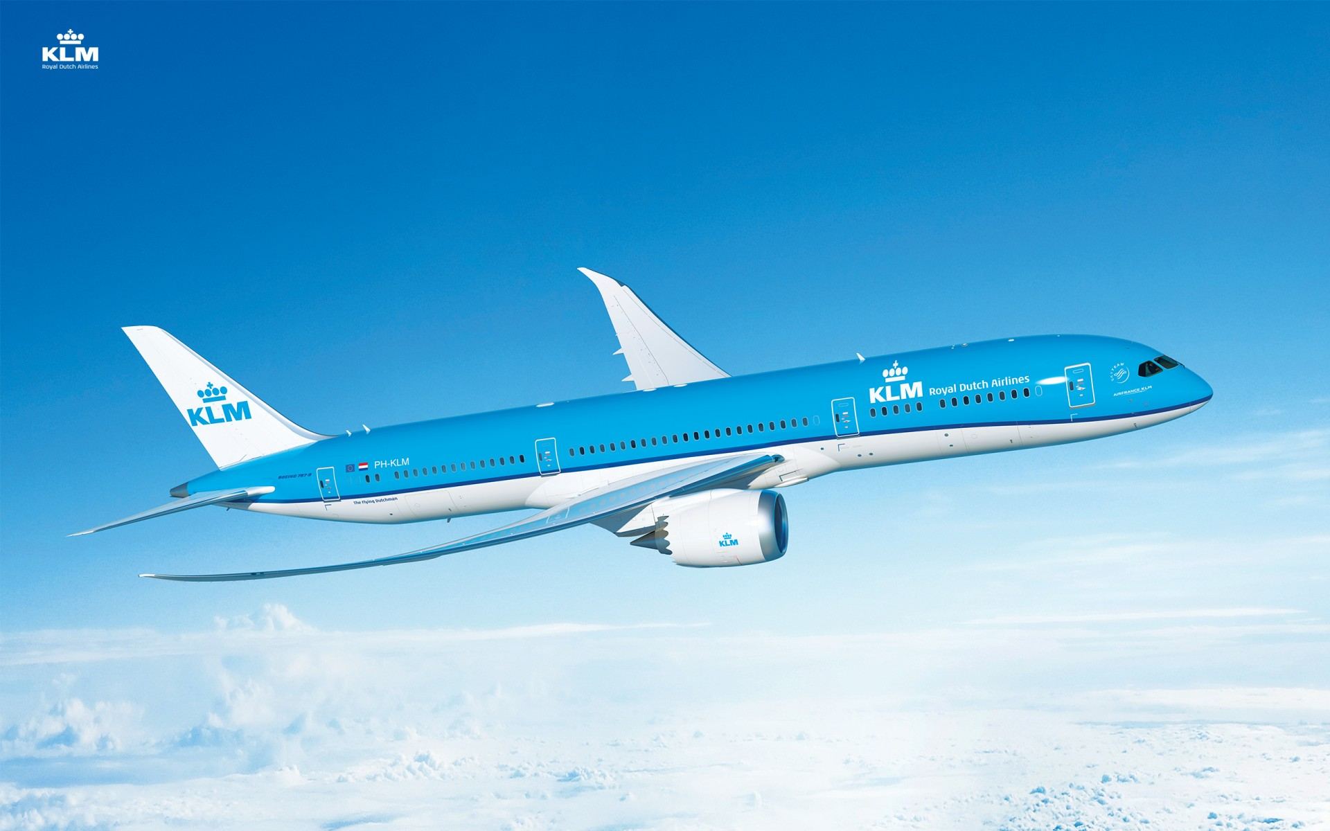 Wallpapers Klm Dreamliner