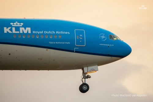 Klm Welcomes Newest Boeing