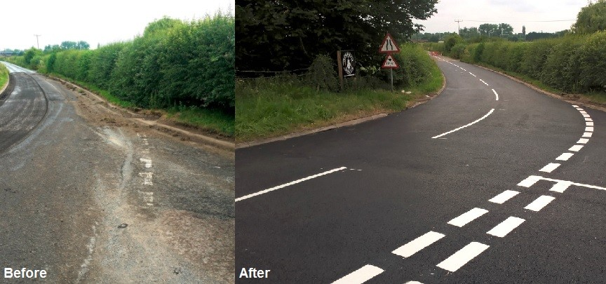 Cholsey Hill Before After