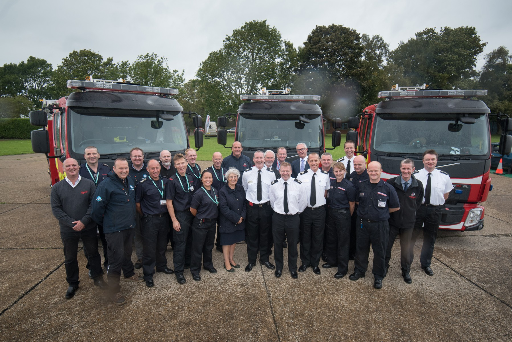 Thames Valley fire and rescue services collaborate on next generation of fire engines