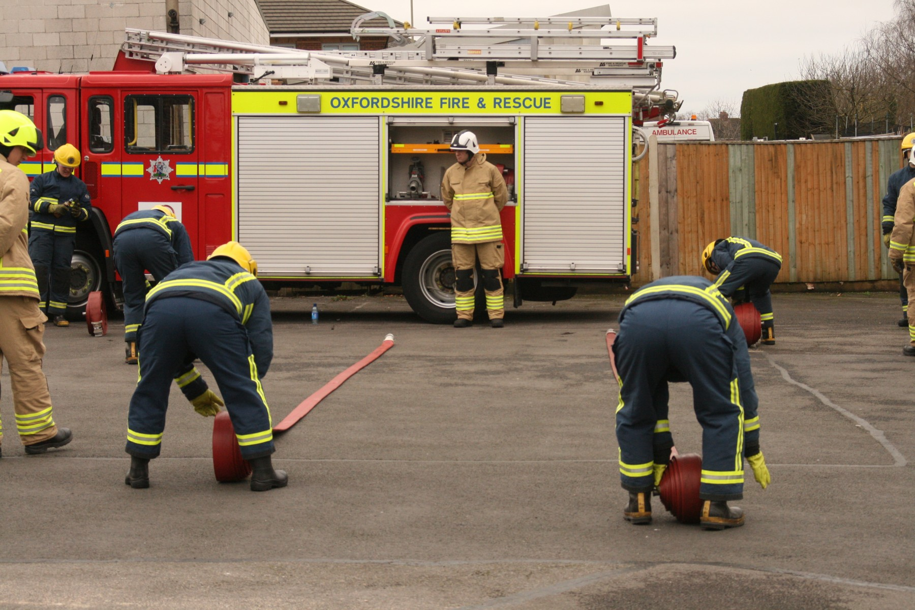 Oxfordshire County Council Fire and Rescue Service