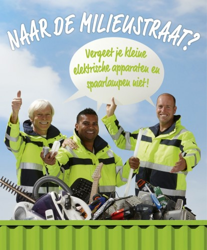 Wecycle+Milieustraat+Campagne