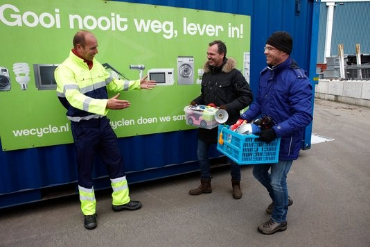 e-waste inleveren wecycle