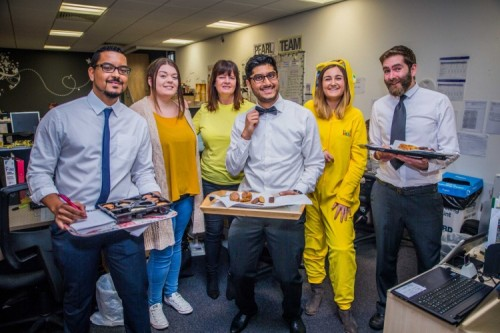 Slimming World employees become 'Pudsey's Helpers' for BBC ...