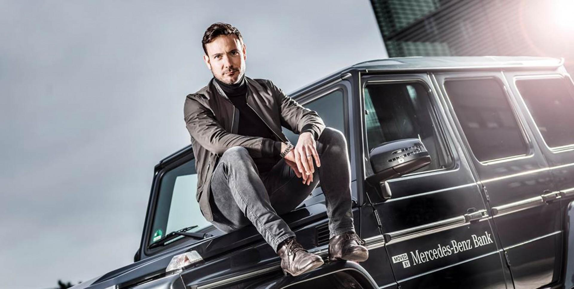 Eric Gauthier Ist Markenbotschafter Der Mercedes Benz Bank