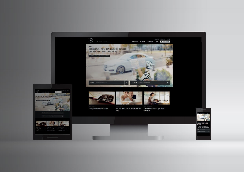 Mercedes benz bank schaltet neue website live for Mercedes benz home page