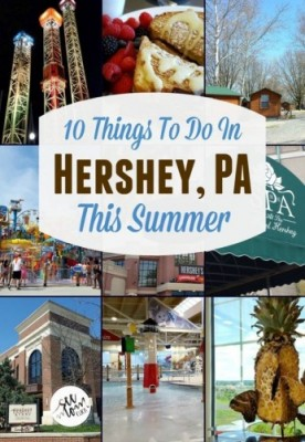 10 Things to Do In Hershey PA This Summer + Hersheypark Ticket Giveaway!!