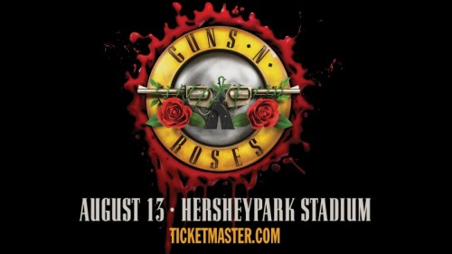 Guns N' Roses Rocked Out at Hersheypark Stadium