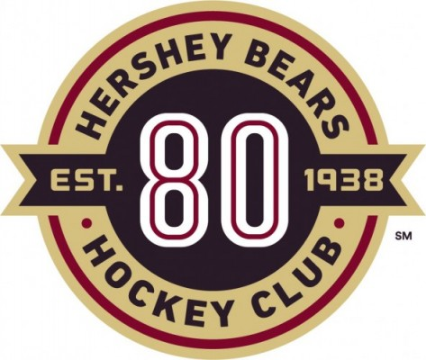 Hershey Bears Unveil Logo for Historic 80th Anniversary Season