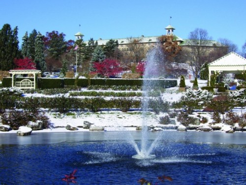 "You'll Love the ""Winter Blues� at Hershey Gardens"