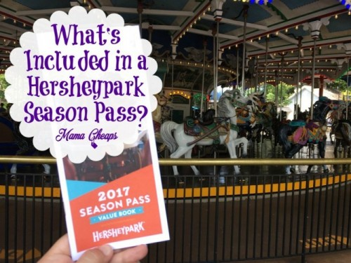 What's Included in a Hersheypark Season Pass?