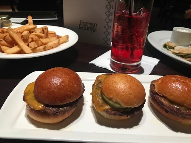 The Iberian Lounge's Local Beef Sliders.