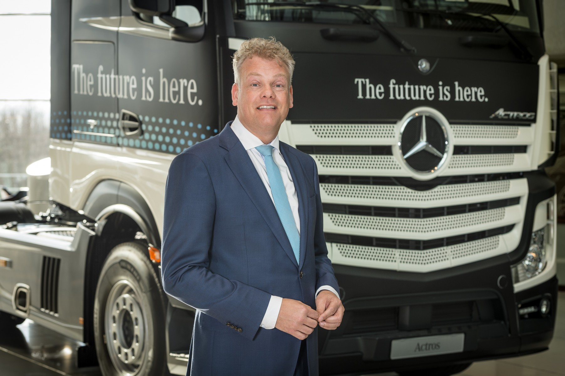 Jasper Hafkamp benoemd tot Executive Director Daimler Trucks & Buses - Mercedes-Benz South-Africa Ltd.