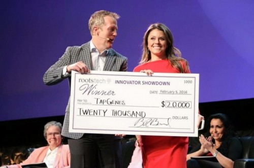 TapGenes, 2016 RootsTech Innovator Showdown 1st Place Winner
