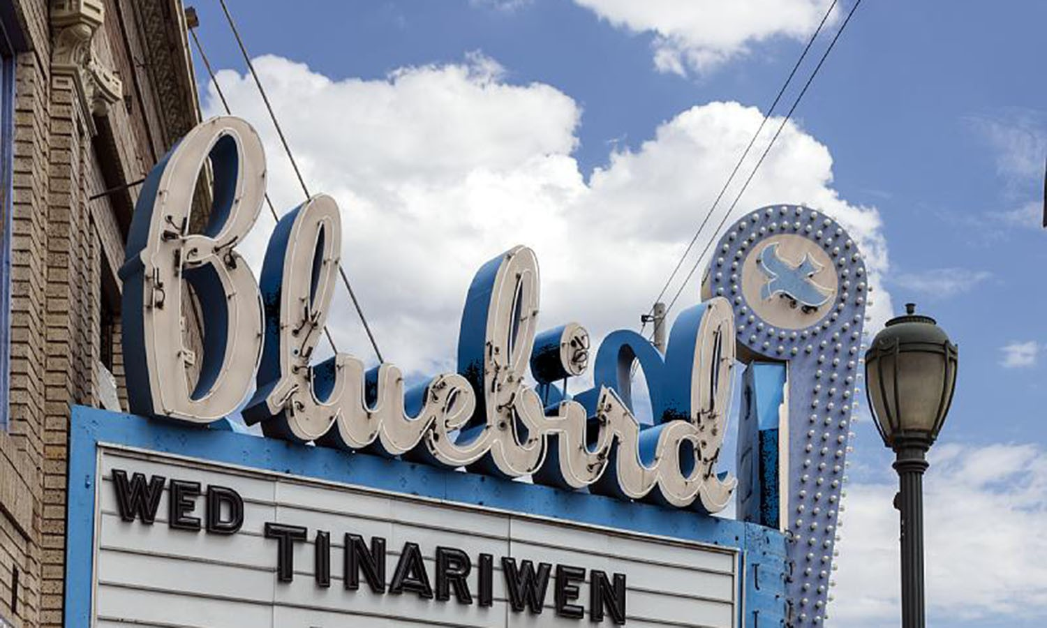 Bluebird Theater marquee