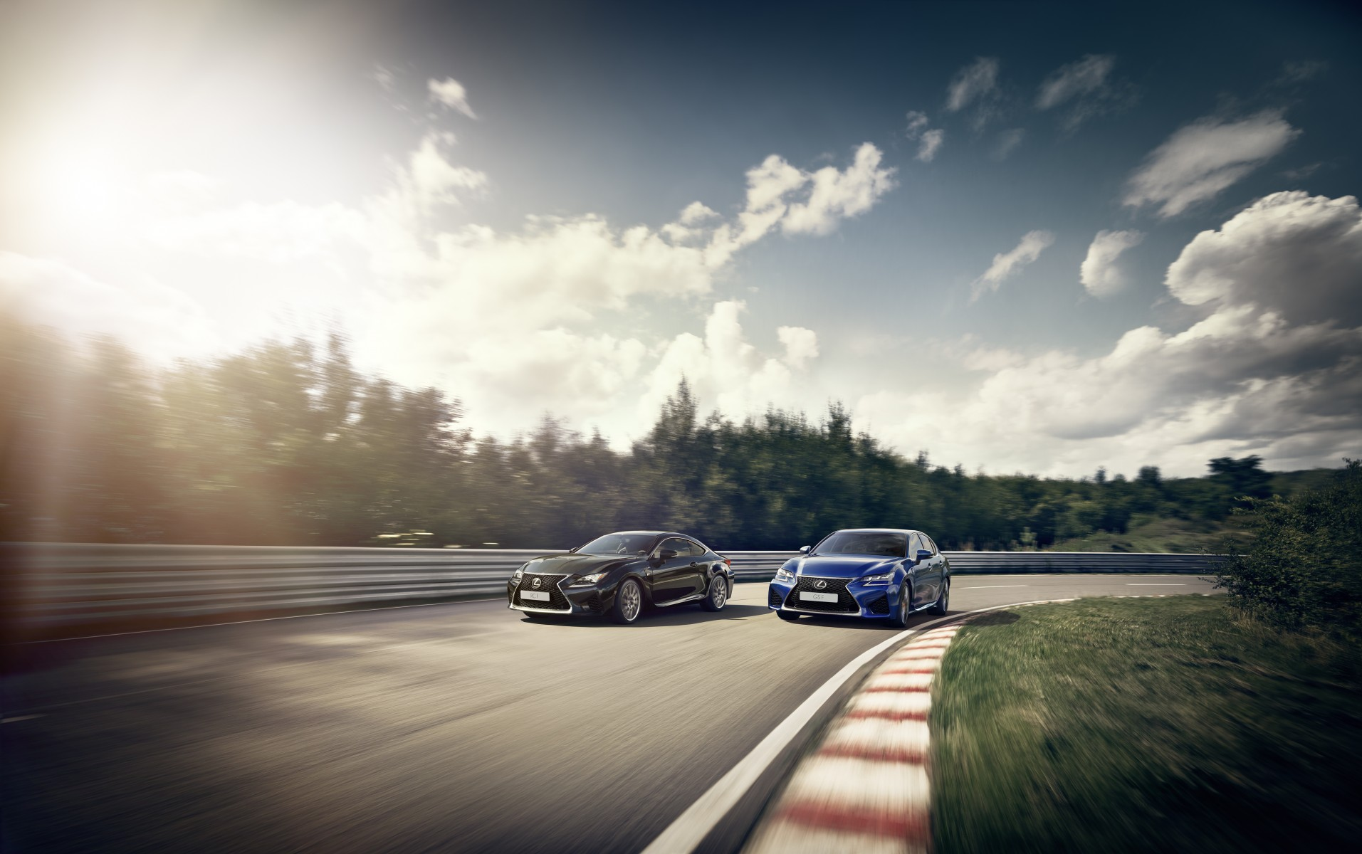2016 GS F and RC F