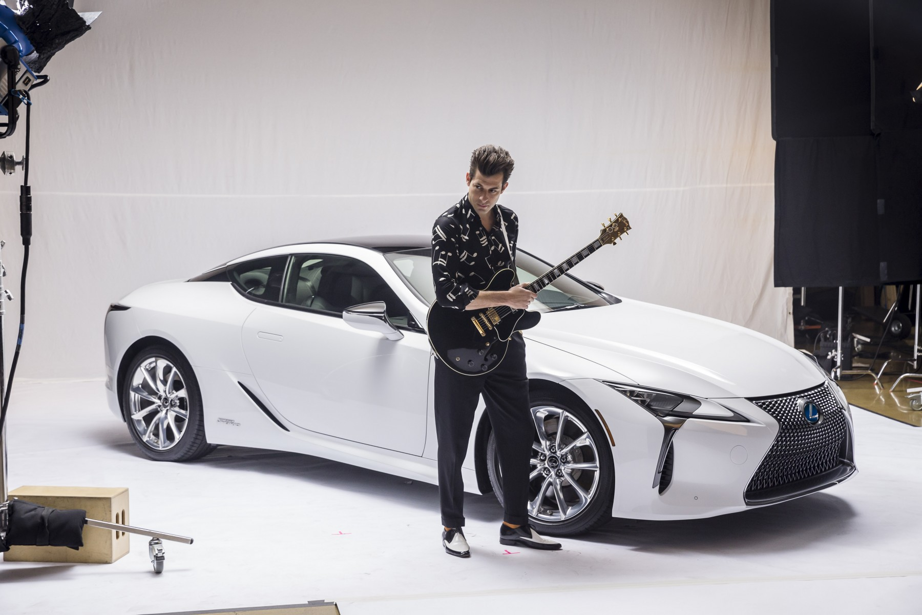 Lexus x Mark Ronson Announcement BTS 8_LOW