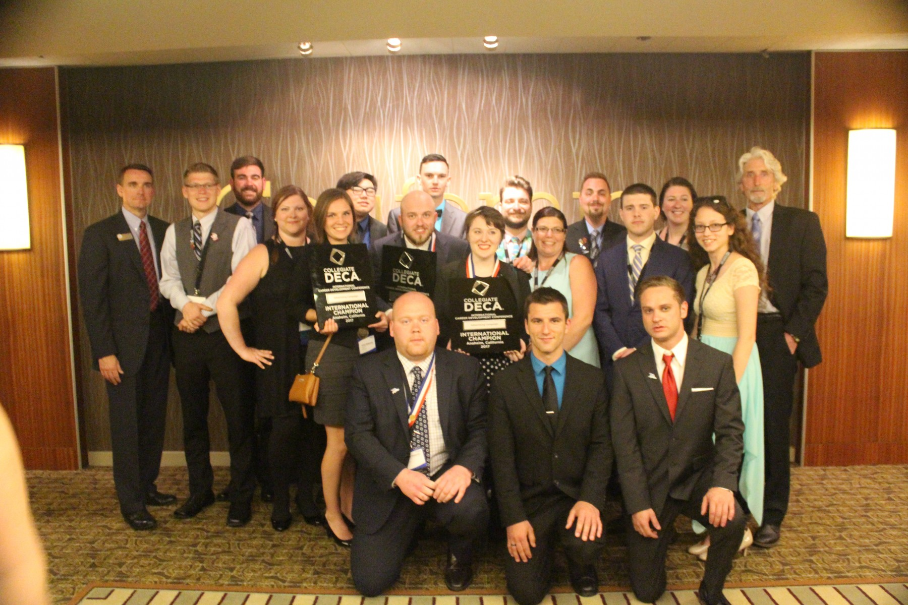 WCTC DECA Chapter at Nationals