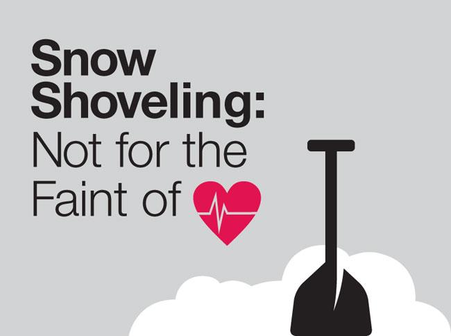 Snow Shoveling Not For The Faint Of Heart