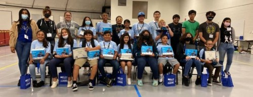 West Oso Junior High Schoolers Attend One-week DMC High-tech Coding Camp image