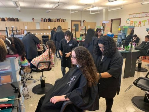 Cosmetology Program Holding Locks of Love Donation Drive on Saturday, Nov. 23, in Time for the Holidays image