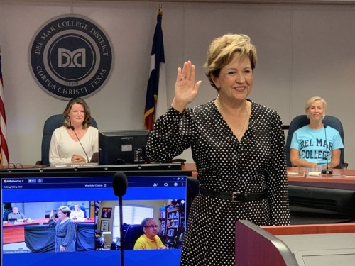 Board of Regents selects Dr. Linda P. Villarreal for At-large Seat after interviewing three candidates today, June 11 image