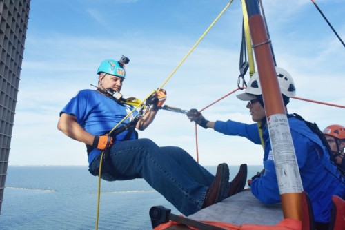 DMC Foundation's rappelling event creates buzz, nets over $45,800 for students