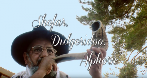 Third episode of 'The Story of the Horn' explores the shofar, didgeridoo and alphorn image