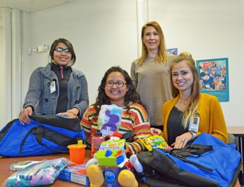 DMC students collecting items to make holidays sweeter for local foster children  image