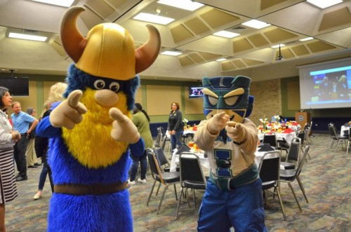 College and University Leadership Celebrate Success of Viking Islander Program image