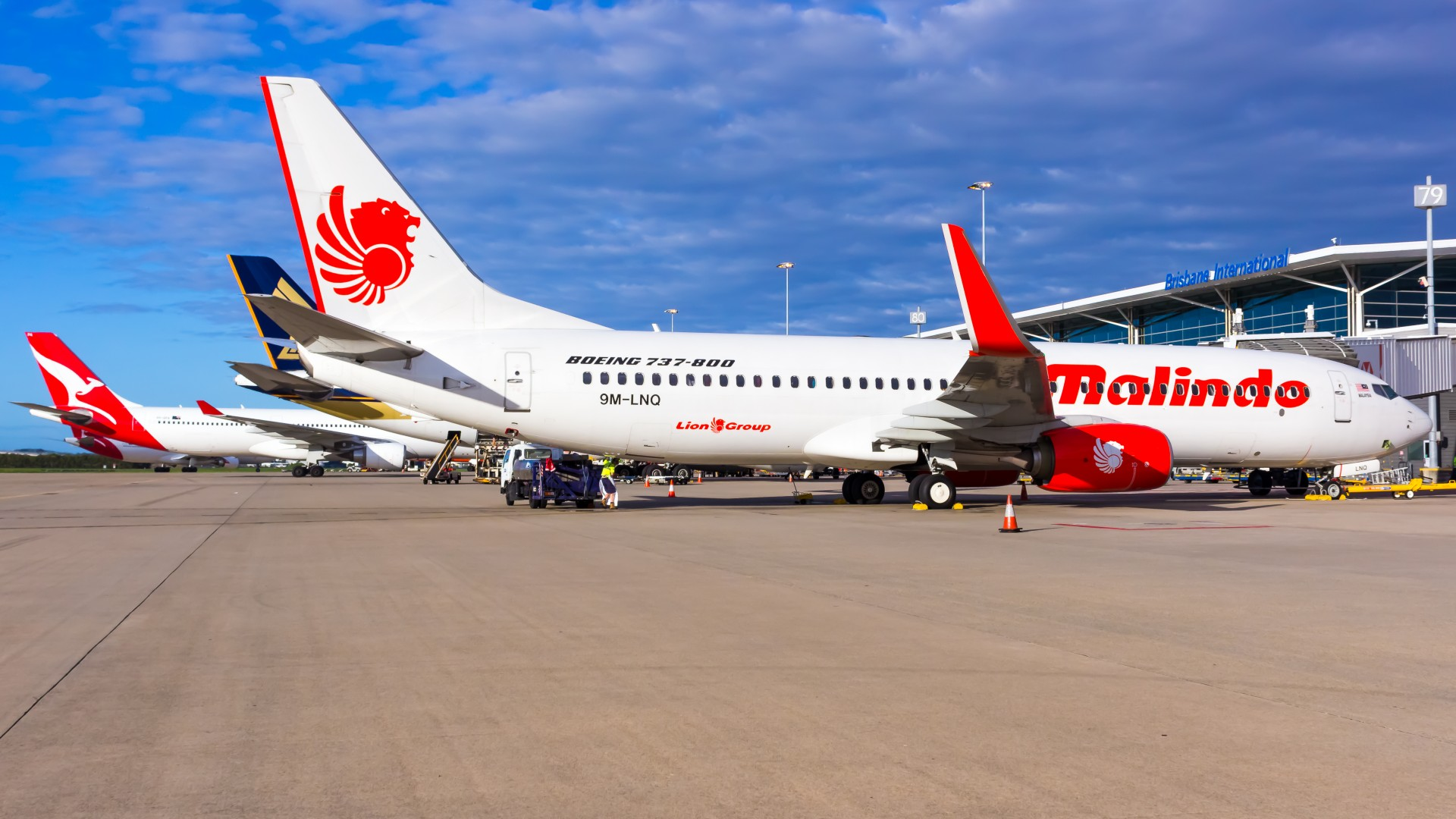 Malindo Air arrives at BNE