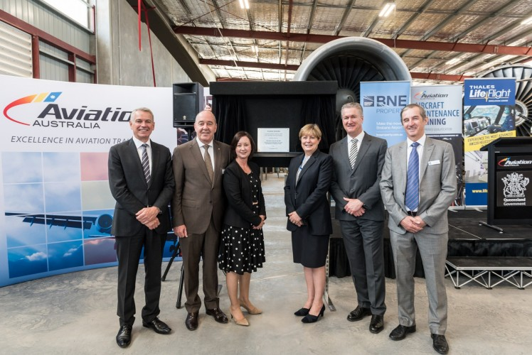 Aviation+Australia+training+facility+opening