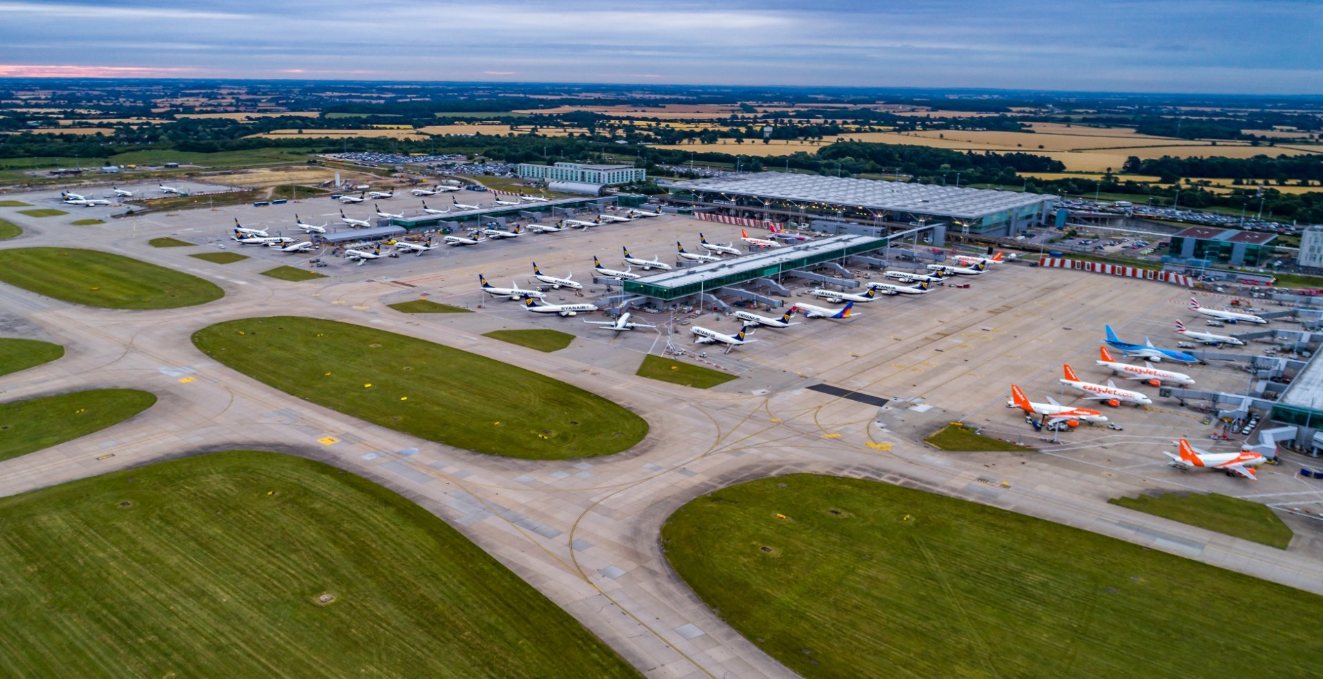 Busiest Ever September At London Stansted Airport