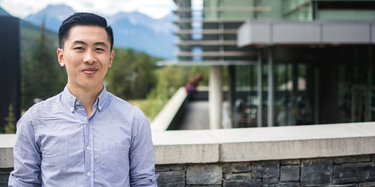 In 2015, Jason Wang joined the first cohort of students at UAlberta's Peter Lougheed Leadership College, which, as of today, takes up permanent residence in the newly constructed Peter Lougheed Hall. (Supplied)