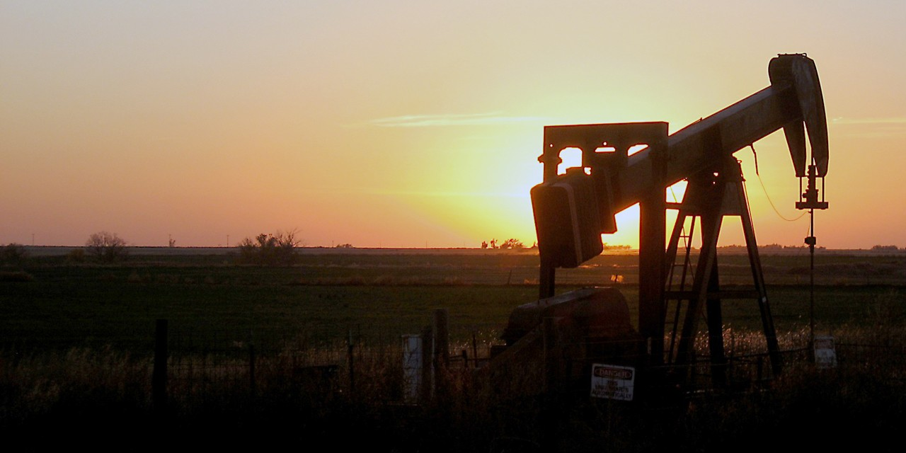 "Dependence on taxes from oil and gas ""has left Oklahoma unprepared for inevitable price downturns of a cyclical industry."" (Photo courtesy PublicDomainPictures.net)"