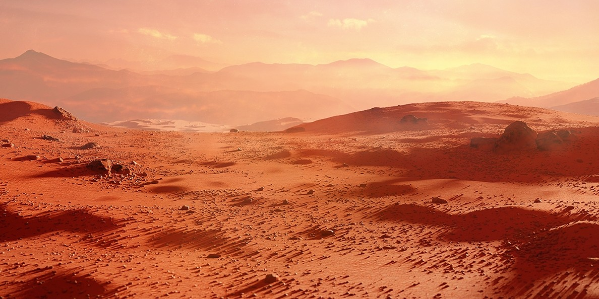 Research shows raging rivers flowed on Mars for over a billion years