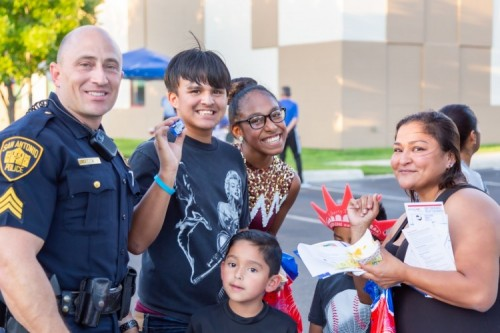 Methodist Healthcare Ministries of South Texas, Inc. Celebrates National Night Out 2019 at its Wesley Health & Wellness Center