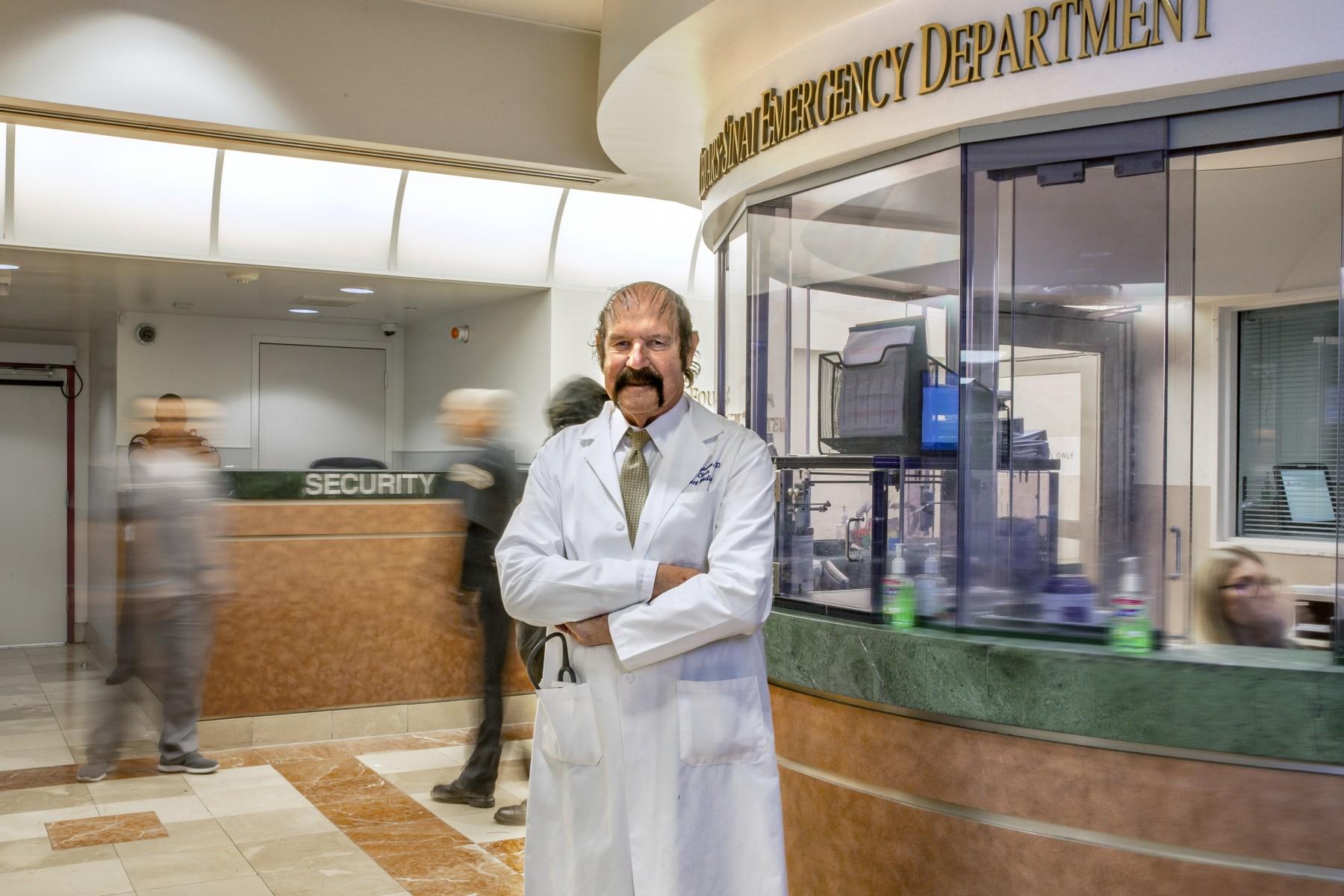 Emergency Medicine Pioneer Marks 40 Years of Transformation