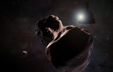 NASA's New Horizons releases first images of entire new world