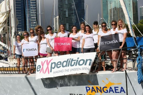 "TOMRA on board for all-female ocean plastic scientific research mission ""eXXpedition"""