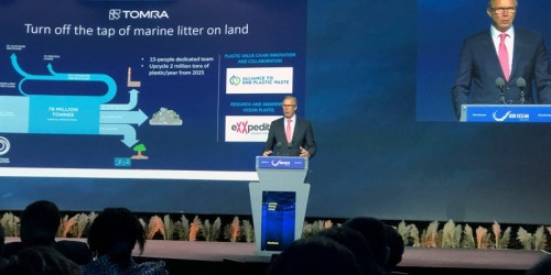 TOMRA announces commitment for 40% of all plastic packaging produced worldwide to be collected for recycling by 2030