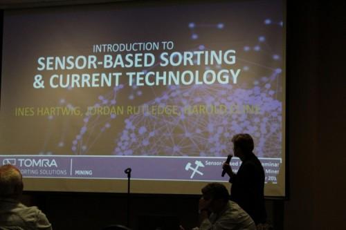 TOMRA holds its first seminar on sensor-based sorting