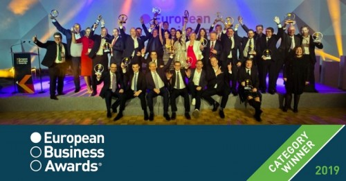 TOMRA wins innovation accolade at European Business Awards 2019