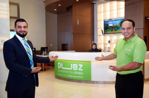 dnata's DUBZ checks in passengers for flights in The Dubai Mall