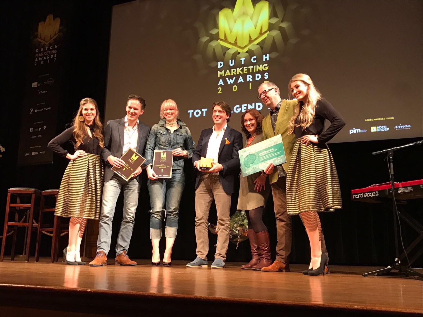 Pieter Zwart Marketeer of the Year 2017