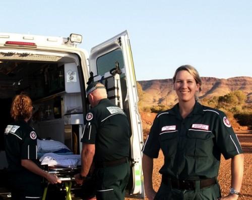 Paramedics in Paraburdoo