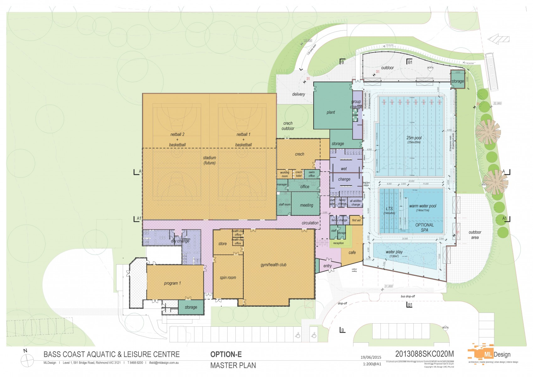 Council Adopts Master Plan For Aquatic Centre