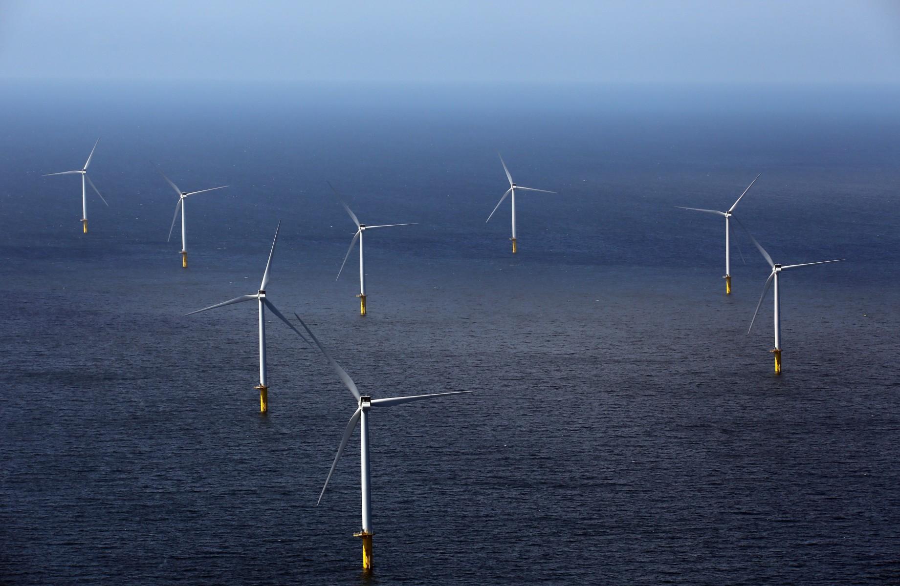 Windpark Eneco Luchterduinen